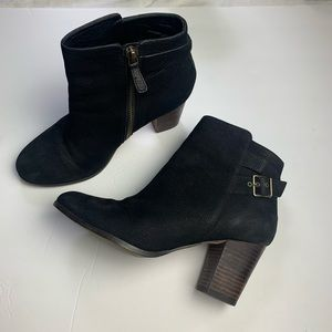 Cole Haan Grand OS Leather Ankle Boots Siz…